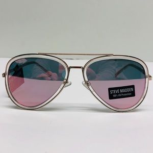 🎉Steve Madden Retro Mirrored Aviator Sunglasses🎉